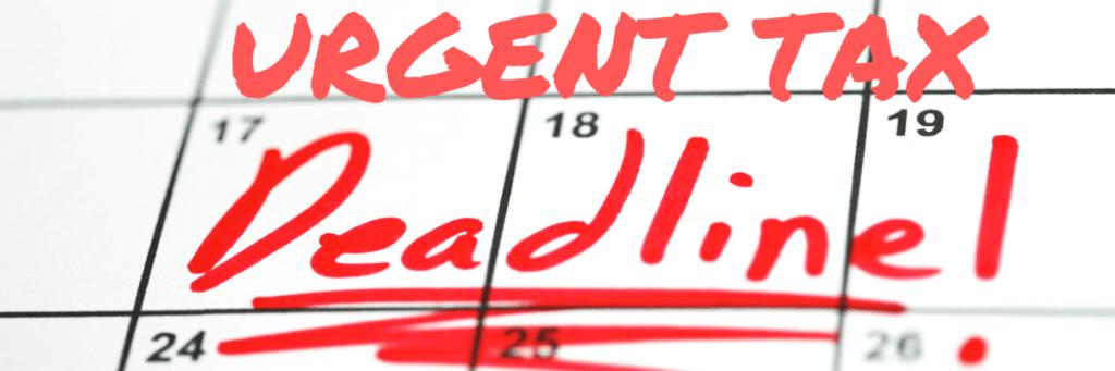 Urgent Deadline