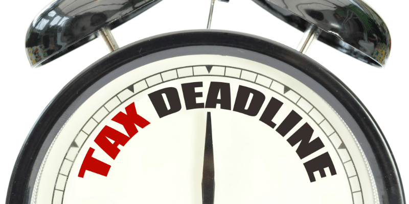 Know Your Tax Deadlines